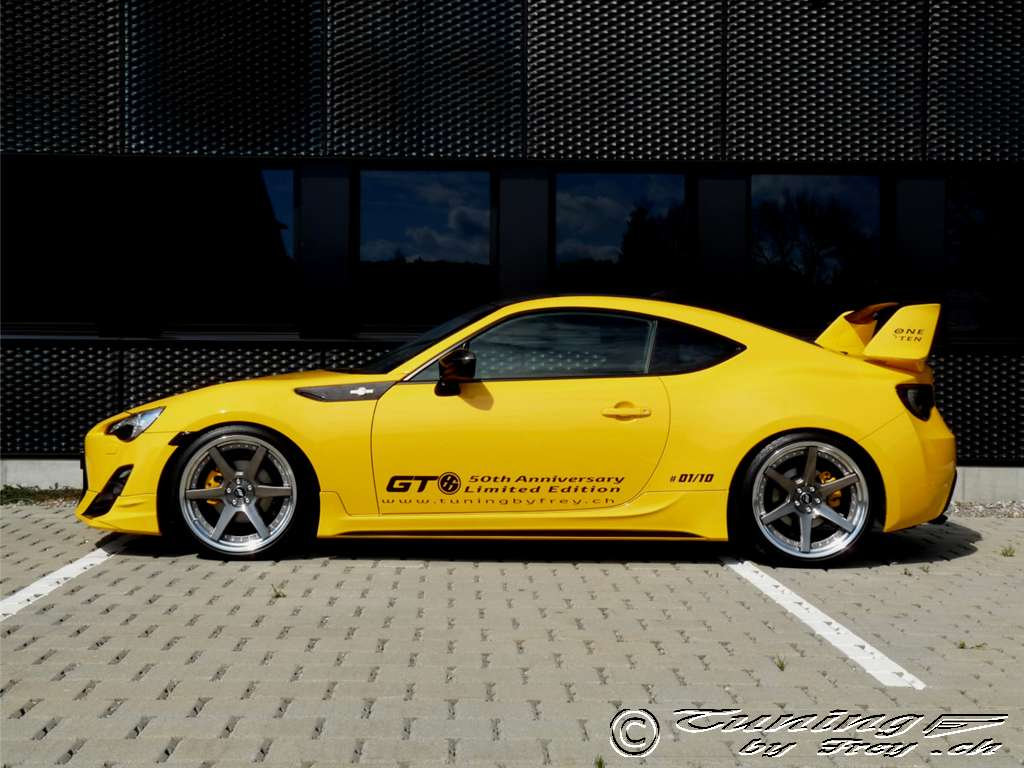 GT86 50th Anniversary Limited Edition By Frey The